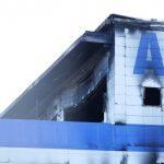 外壁は意外と焼けていません。